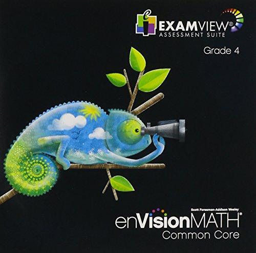 9780328702671: enVision Math Common Core, ExamView Assessement Suite, Grade 4