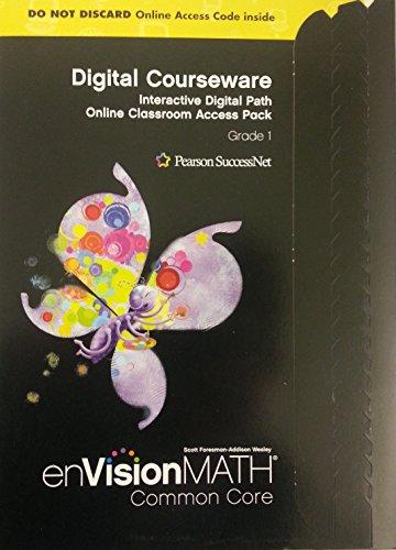 Envision Math Grade 1