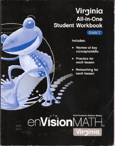 9780328706051: Virginia All-in-One Student Workbook, Grade 2, enVision Math