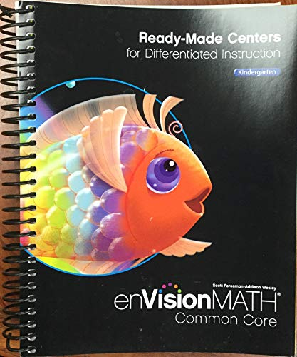 9780328711635: Ready-Made Centers for Differentiated Instruction Kindergarten