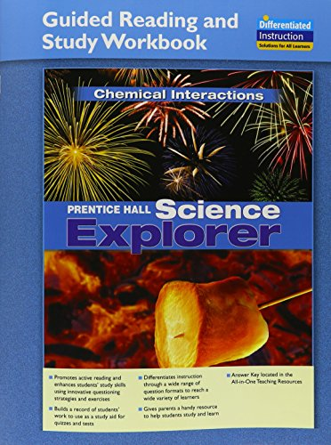 9780328718023: Science Explorer 2011 International Edition Chemical Interactions Guidedreading and Study Workbook Grade 6/8