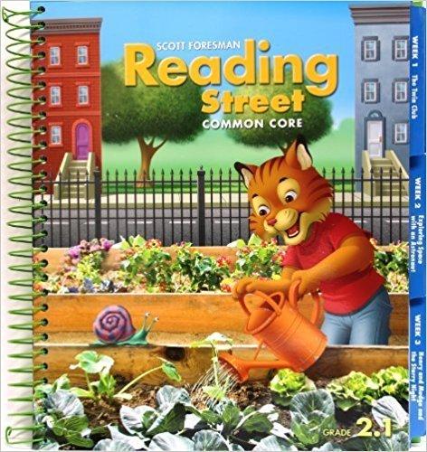 9780328725212: Reading Street Common Core 2013 Teachers Edition Second Grade 2.1