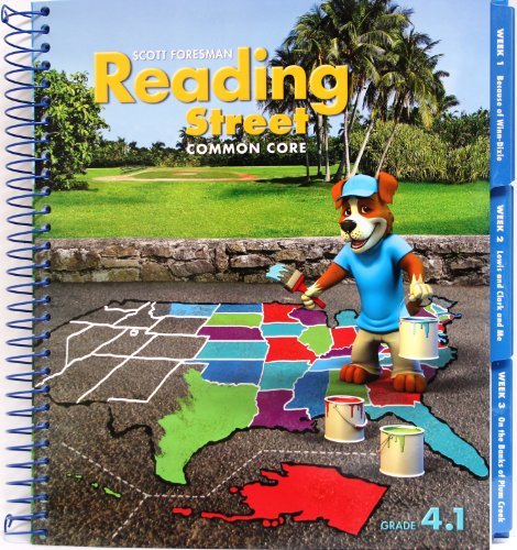 9780328725335: Reading Street Common Core 2013 Teachers Edition Fourth Grade 4.1