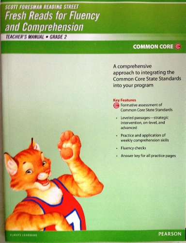 9780328726363: Pearson Scott Foresman Fresh Reads for Fluency and Comprehension Common Core Edition (Reading Street Grade 2 Teacher's Manual) by Pearson (2012-05-03)