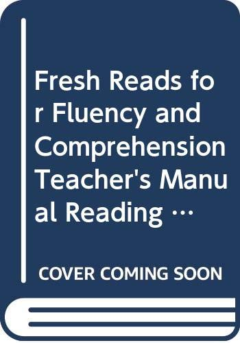 Fresh Reads for Fluency and Comprehension Teacher's