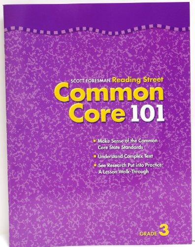 9780328733651: Scott Foresman Reading Street Common Core 101 grade 3