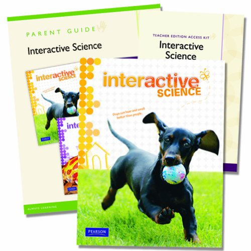 9780328748624: Interactive Science Homeschool Edition, Grade 1 with Teacher Edition Access Kit [With Parent Guide]