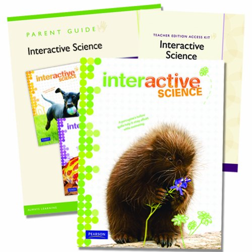 9780328748631: Interactive Science Homeschool Edition, Grade 2 with Teacher Edition Access Kit [With Parent Guide]