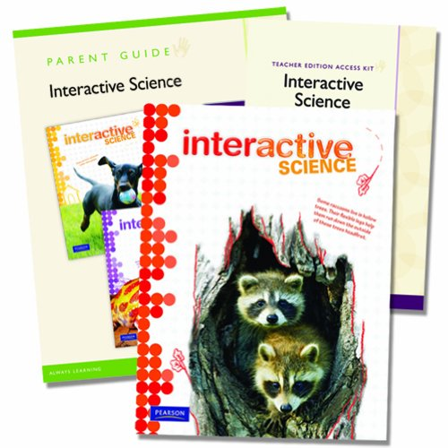 9780328748655: Interactive Science Homeschool Bundle with Teacher's Edition eText, Grade 4
