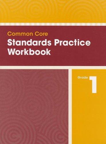 9780328756841: COMMON CORE STANDARDS PRACTICE WORKBOOK GRADE 1