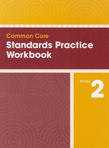 9780328756858: COMMON CORE STANDARDS PRACTICE WORKBOOK GRADE 2