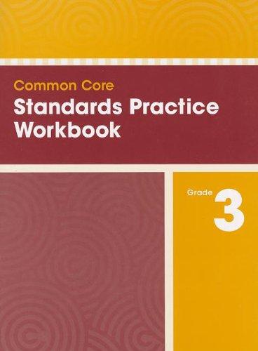 9780328756865: COMMON CORE STANDARDS PRACTICE WORKBOOK GRADE 3