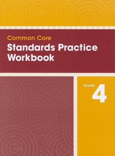 9780328756872: COMMON CORE STANDARDS PRACTICE WORKBOOK GRADE 4