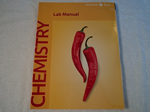 Pearson Chemistry Lab Manual:Texas Edition: Wilbraham, Antony
