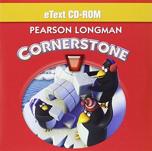 9780328766079: CORNERSTONE 2013 STUDENT EDITION ETEXT CD-ROM GRADE 1