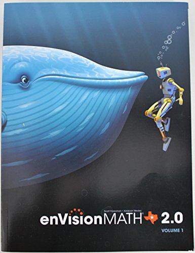 9780328767243: enVision Math 2.0 Texas Edition Volume 1 5th Grade Workbook - Student Edition 2015