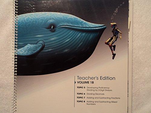 9780328767427: enVision Math 2.0 Texas Edition Volume 1B Topics 5-8: Grade 5 Teacher's Edition