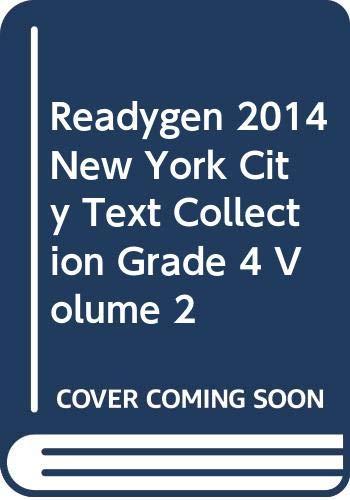 9780328788477: READYGEN 2014 NEW YORK CITY TEXT COLLECTION GRADE 4 VOLUME 2