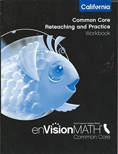 9780328790739: enVision Math California Common Core K Reteaching & Practice
