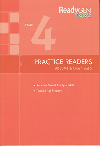 9780328795727: READYGEN 2014 PRACTICE READERS GRADE 4 VOLUME 1