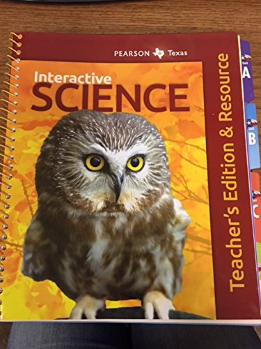 9780328807482: Interactive Science, Grade 1, Student Edition, Texas Edition