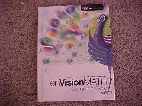 9780328808106: enVision Math Common Core Grade 5 Student Textbook Pearson realize Edition