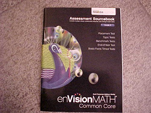 9780328810437: Envision Math Common Core Assessment Sourcebook Grade 5 Realize Edition