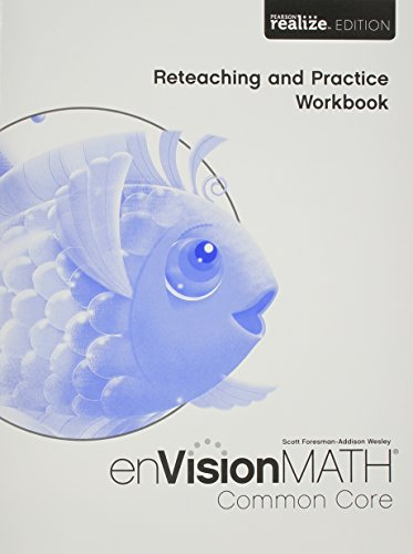 9780328810727: Math 2015 Common Core Practice & Reteaching Workbook Grade K