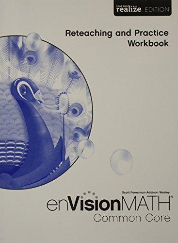 9780328810772: Math 2015 Common Core Practice & Reteaching Workbook Grade 5