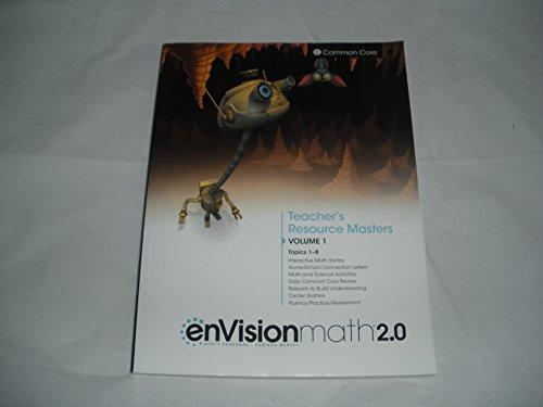 enVision Math 2.0 Teacher's Resource Masters, Common Core, Grade 2 Volume 1 Topics 1-8, ...