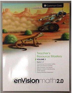 Teacher's Resource Masters Volume 1 Topics 1-7