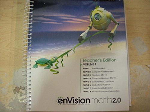 9780328827763: enVisionmath 2.0 Teacher's Edition Grade K Volume 1 Common Core