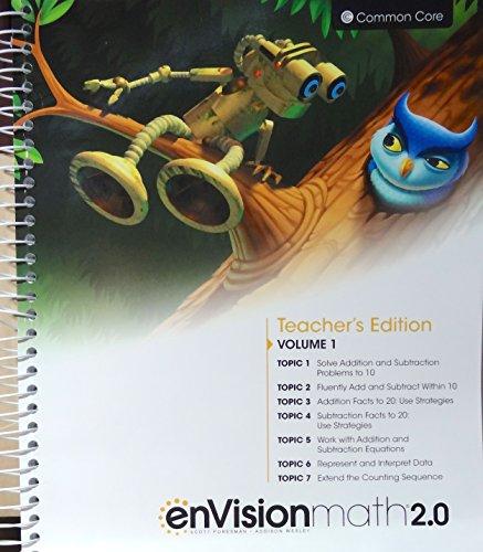 enVisionmath2.0 - 2016 Common Core Teacher Edition Volume 1 Grade 1: Wray, Charles Bay-Williams ...