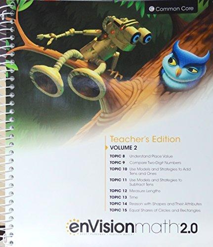 9780328827848: enVisionmath2.0 - 2016 Common Core Teacher Edition Volume 2 Grade 1