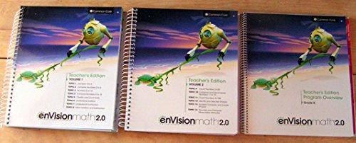 9780328827978: enVisionMATH 2.0 Math 2016 Common Core Teacher Edition Package Grade K (Contains 2-volume Teacher's Edition and Teacher's Edition Program Overview)