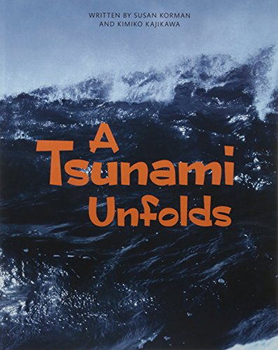 9780328832965: A TSUNAMI UNFOLDS (PAPERBACK) COPYRIGHT 2016