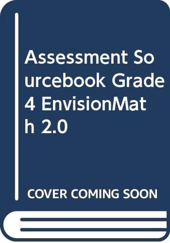 9780328843794: Assessment Sourcebook Grade 4 EnvisionMath 2.0