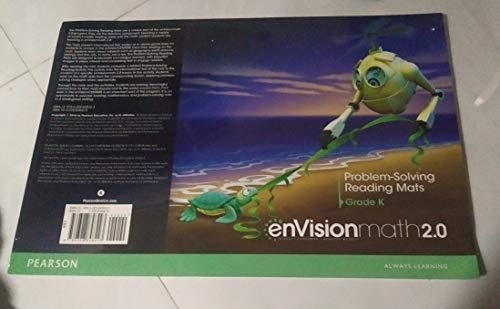 9780328848423: MATH 2016 COMMON CORE PROBLEM SOLVING READING MATS GRADE K