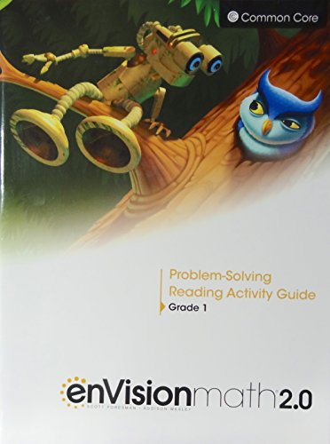 enVisionmath2.0 - 2016 Common Core Problem-Solving Reading Activity Guide Grade 1
