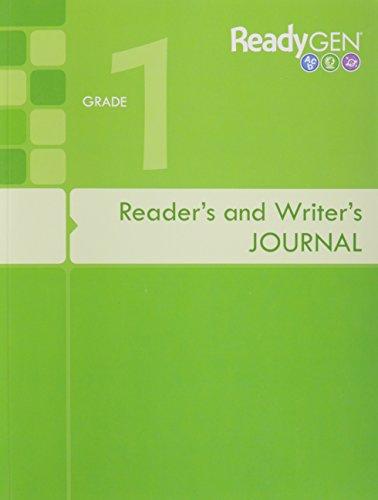 9780328851560: READYGEN 2016 READERS & WRITERS JOURNAL GRADE 1