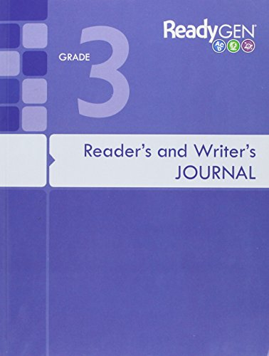 9780328851584: READYGEN 2016 READERS & WRITERS JOURNAL GRADE 3