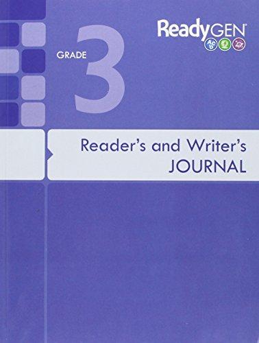9780328851584: READYGEN 2016 READERS & WRITERS JOURNAL GRADE 3