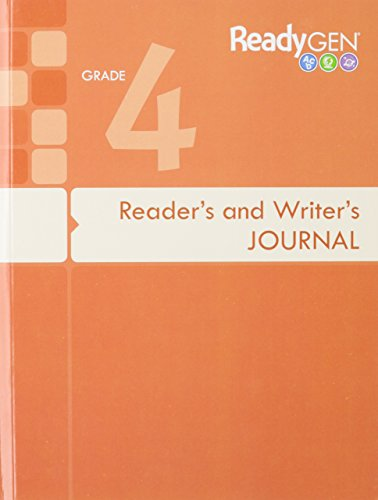 9780328851591: READYGEN 2016 READERS & WRITERS JOURNAL GRADE 4