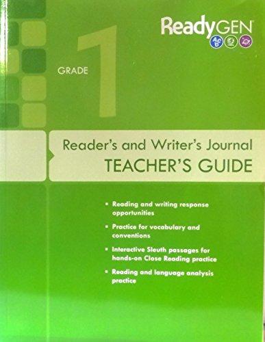 9780328851638: ReadyGEN 2016: Reader's and Writer's Journal Teacher's Guide Grade 1
