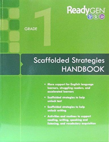 9780328851706: ReadyGEN 2016: Scaffolded Strategies Handbook Grade 1