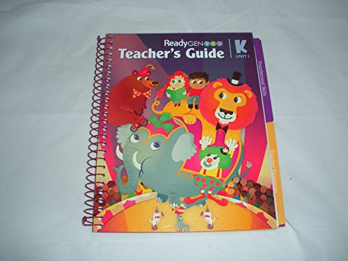 ReadyGEN Teacher's Guide Package Grade K (6 Teacher Guide units) Common Core Literacy: Allyn, ...