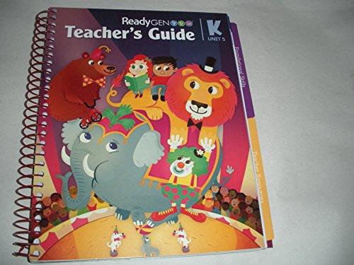9780328851805: RedyGen Teacher's Guide Grade K Unit 5