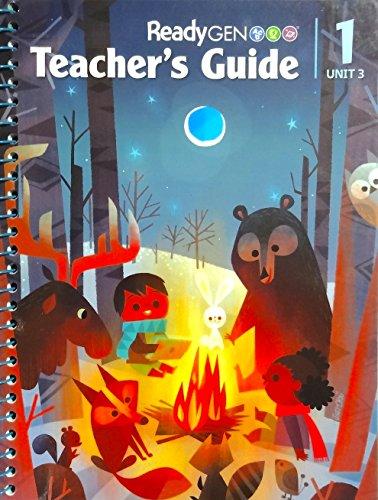 9780328851843: ReadyGEN 2016 Teacher's Guide Grade 1 Unit 3