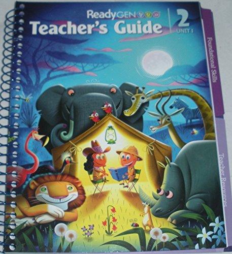ReadyGEN Teacher's Guides Unit Module 1 Grade 2: Elfrieda H. Hiebert, P. David Pearson, Sharon ...