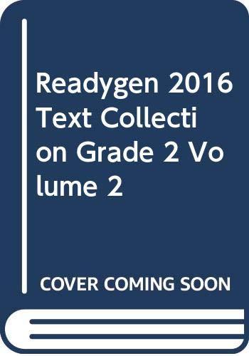 9780328852796: READYGEN 2016 TEXT COLLECTION GRADE 2 VOLUME 2